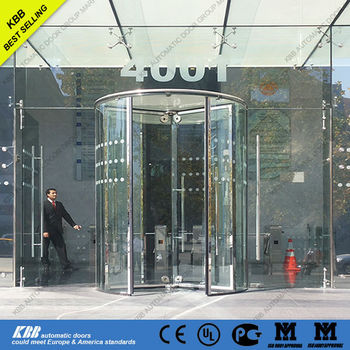Revolving Door With Security Glassautomatic And Manual Typeeurope