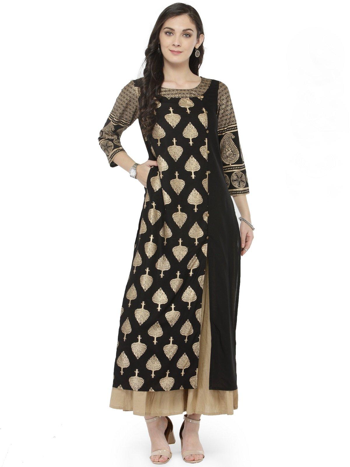 1674d1c3e1 Manas Crafts Designer Kurta Kurti Indian Women Bollywood Tunic Ethnic  Pakistani Top Crepe Kurtis Dress Tunics