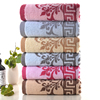 Factory Supply Jacquard Design Terry Bath Towel With Good Moisture Retention