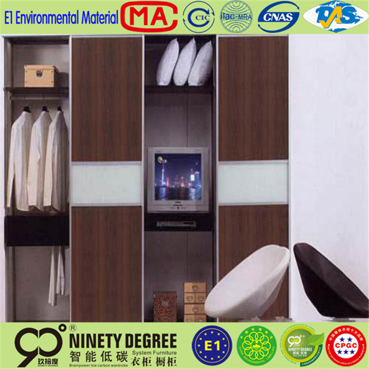 Super workmanship two door steel wardrobe for hang clother
