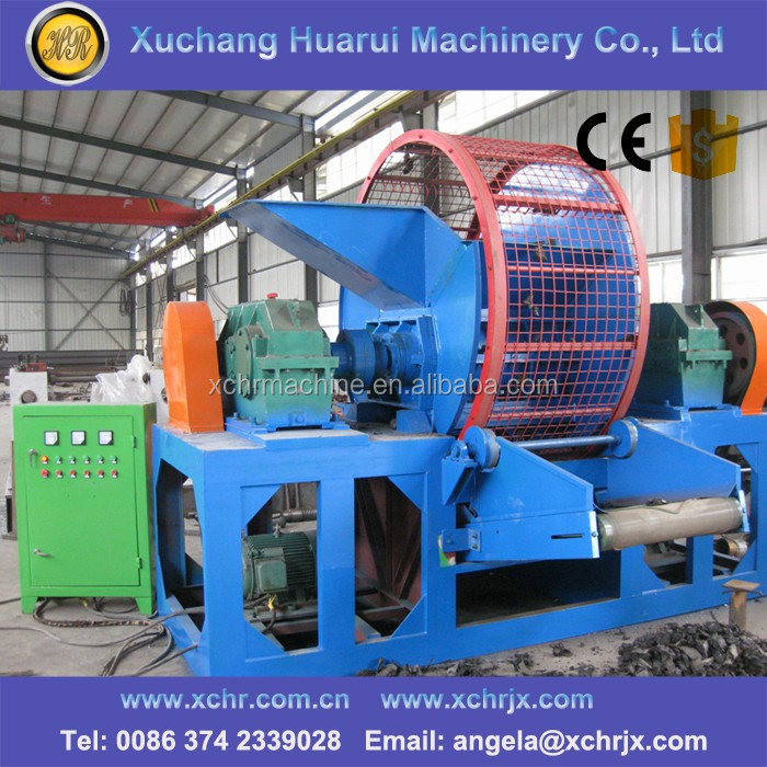 Tire Rubber Crushing Mill For Waste Tire Recycle Machine
