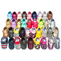 New Arrival 36 Colors Tassel Leather Baby Shoes Bling Moccasins Baby Toddler Shoes Unisex Newborn Baby