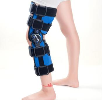 Manufacture supply Adjustable Medical hinged Knee Orthosis physiotherapy equipment for rehabilitation with CE Approved
