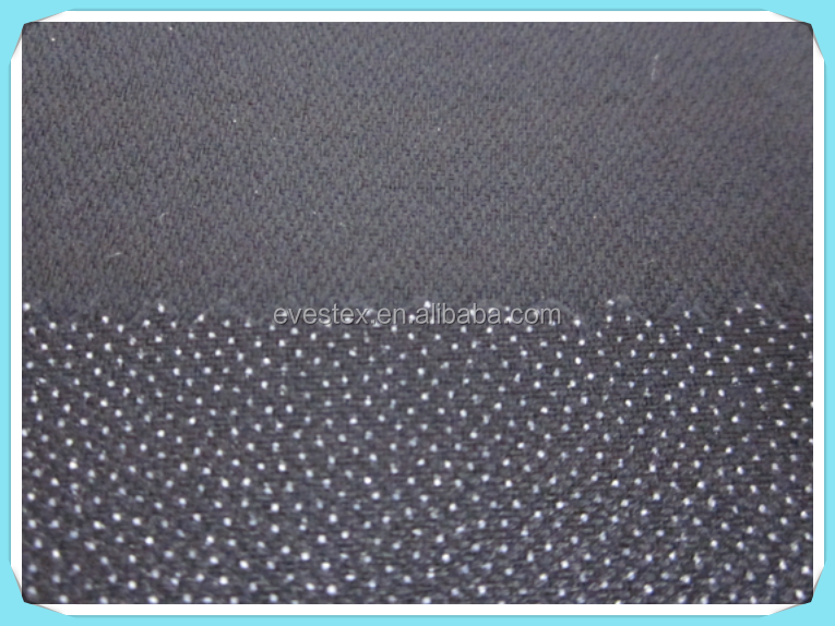 58gsm lower fusing temp. fusible interfacing for leather garment
