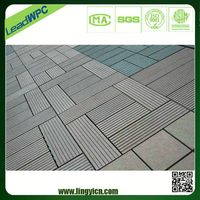 easy installation wood plastic composite vinyl floor tile