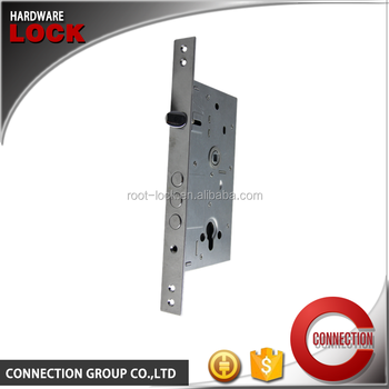 Hidden Door Lock Metal Long Handle Central Door Lock