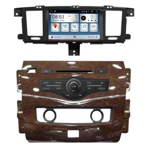 Auto DVD head unit for N issan patrol 2012-2015 with android 7.1 quad core 2G RAM 16G ROM