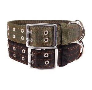Pet Products Durable 4 Layer Military Nylon Dog Collar