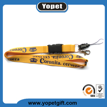Popular Fashion Promotional Gift Custom Design Silkscreen+Polyester Lanyard New Products