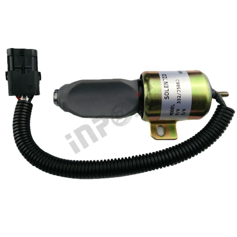 Part No. 332//J5060 JCB Solenoid Engine Stop