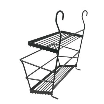 Hot Factory Directory Export Metal Wire Kitchen Organizer Hanging Dish Rack