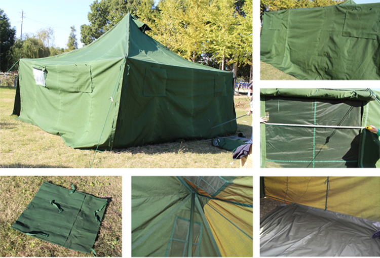 double 2 man camouflage fishing hunting military tent cot camping
