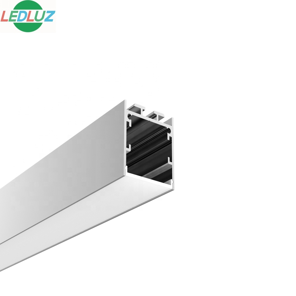 wall installation 35mm*35mm customized led aluminum profile with strip for  homelife