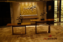 Elegant Modern hotel Lobby furniture Console table