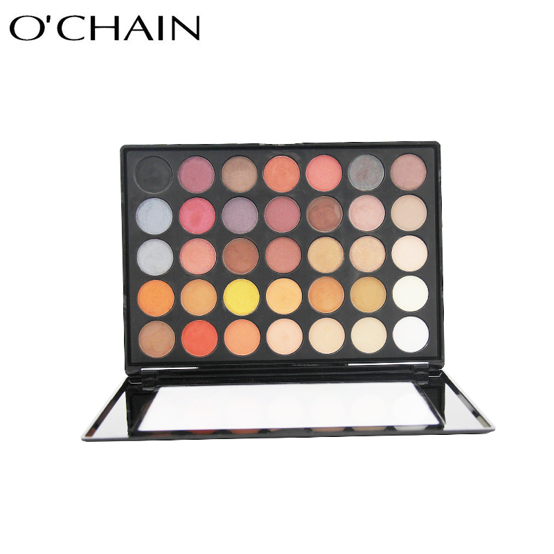 Hot sale pro 35 colors colorful eyeshadow palette