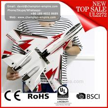 New arrival high quality DIY 6CH KT RC Plane rc jet planes SU-27 RC Plane with led light
