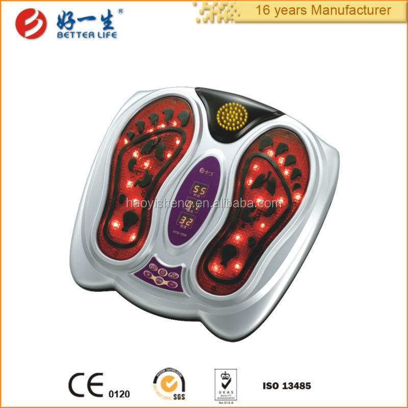 Health care pain relief acupressure foot electric massage machine