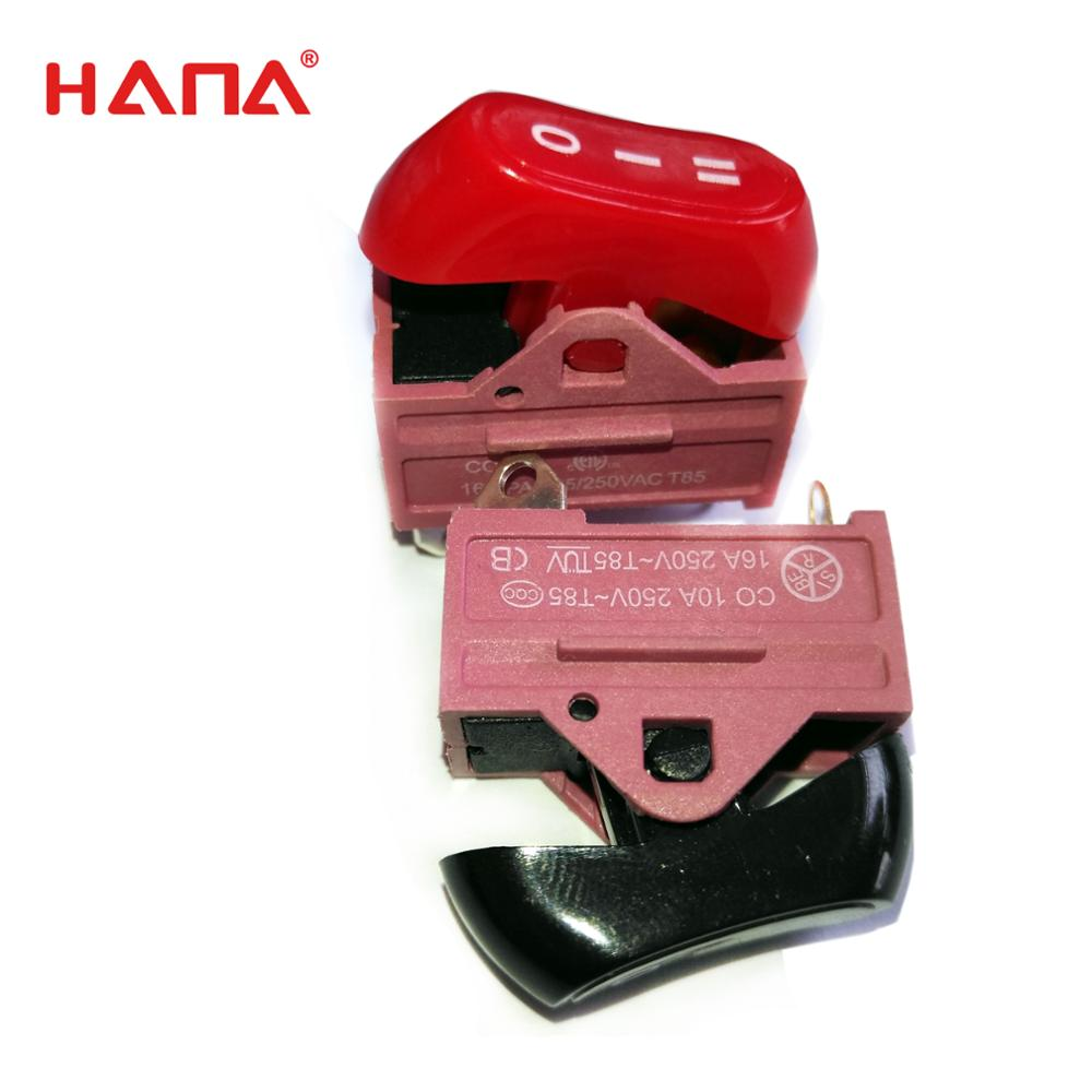 HANA hair dryer parts fireproof ETL rocker switch with price