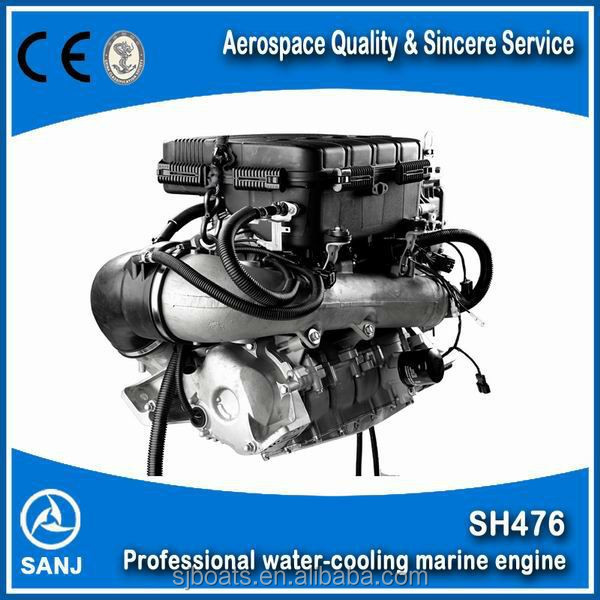 High efficient inboard water jet boat engine small jet engine