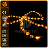 wedding decorating copper wire led rain drop christmas lights,battery operated led string lights