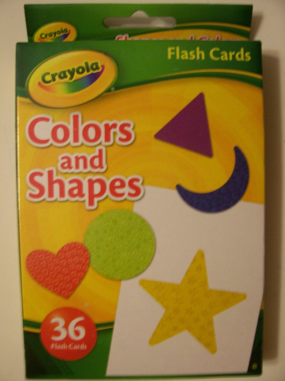 Crayola Educational Flash Cards ~ Colors and Shapes (36 Flash Cards; 2012) by Dalmatian Press