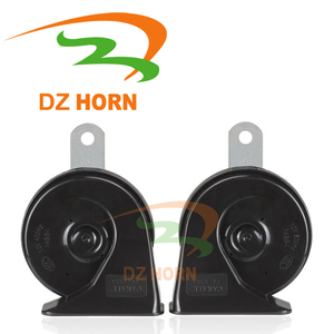 DZ auto parts Dc 12v Snail horn with universal connector