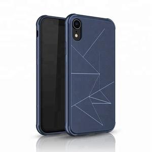 wholesale custom printed geometric shockproof soft tpu phone cover for iphone xr case