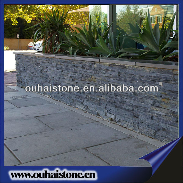 Natural slate wall slate stone decorated houses/decorative wooden houses/assembled houses
