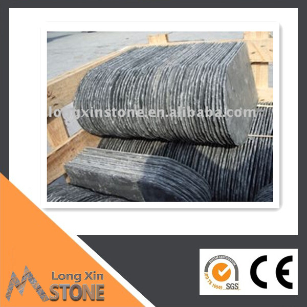Chinese Natural grey roofing slate tiles