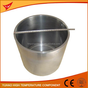 China factory sales tungsten melting pot/crucible for melting