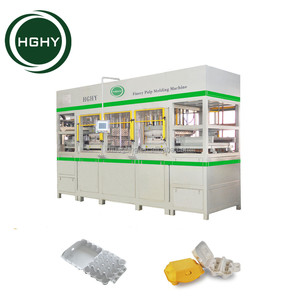 HGHY FULL AUTOMATIC egg box forming machine made in China factory