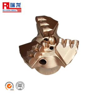 pdc well drilling bit / pdc rock drill bits