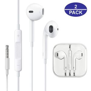 Wired 3.5 mm Mobile Earphone 3D Earbuds In Ear Headphone Stereo For Apple Samsung Smartphones Android Tablet MP3