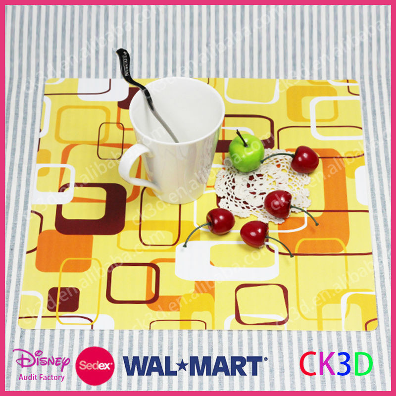 Clear Plastic Table Matfruit Hard Placematchristmas Placemat - Clear placemats for table