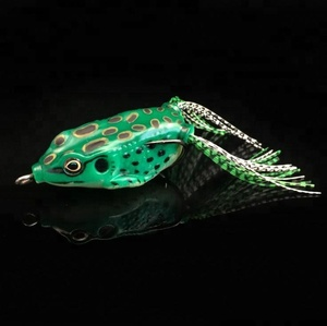 5 colors,lifelike micro frog baits for sale ,fishing lure ,stainless steel hook 55mm,8.5g