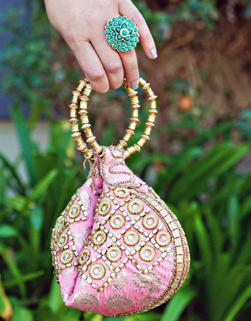 Indian Wedding Potli Bags Decorative Beaded Embroidered Product On Alibaba