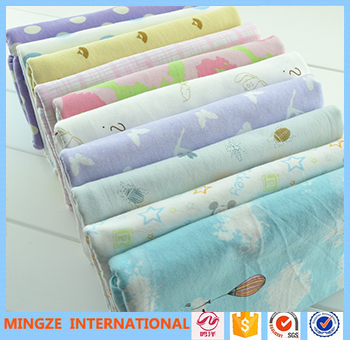 Different kinds fabric cotton printed bed cover fabric