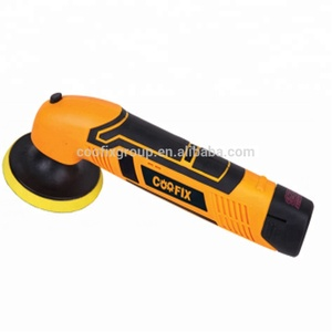 COOFIX High Quality 75/100mm Electric rechargeable 10.8v Hand cordless Car Polisher grinder machine 100 mm polisher grinder