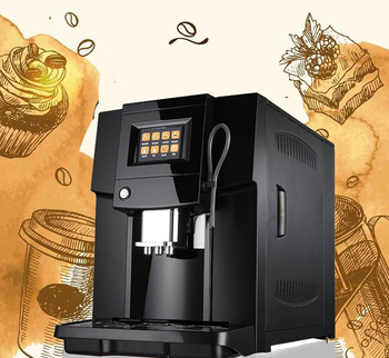 Smart 4 languages fully auto bean to cup coffee vending espresso machine