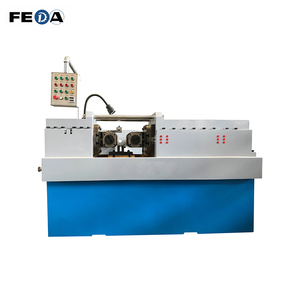 FEDA automatic nail thread rolling machine high precision threading machine thread rod making machine