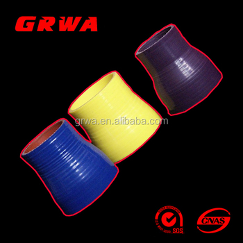 Top quality colorful silicone rubber hose manufacturer