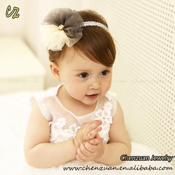 Lovely Cute Baby Hair Accessories Adjustable Elastic Headbands For Baby  Girls With Chiffon Rose Flower - Buy Headbands For Baby Girls Rose Flower 6ad53cd9372