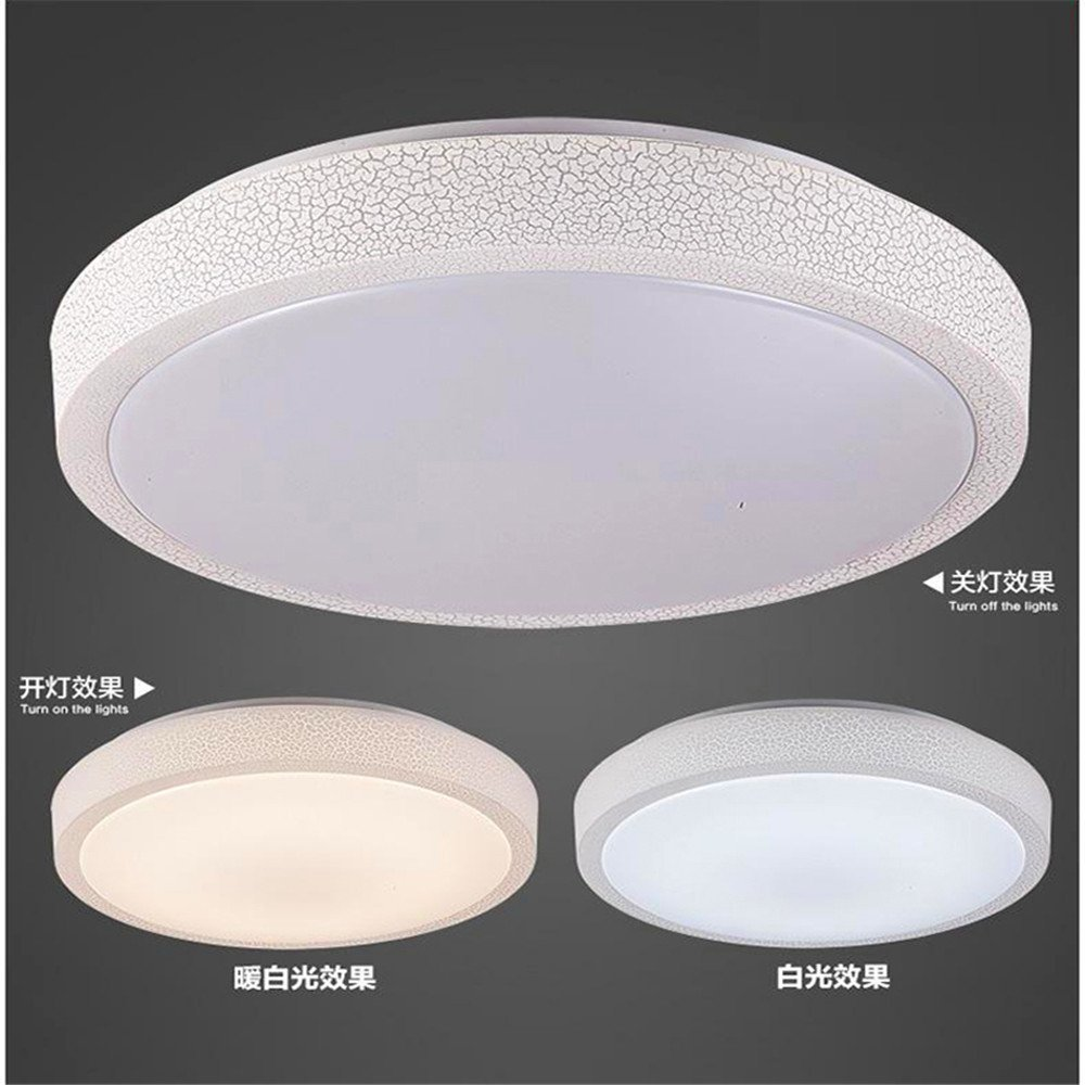 Modern LED Pendant Flush Mount Ceiling Fixtures Light Led ceiling lamp simple modern round kitchen lighting lighting white, 500mm