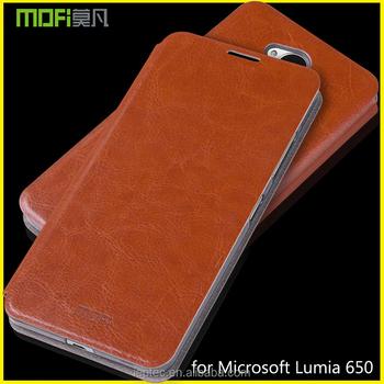 innovative design cb3b8 e7643 Mofi Back Cover For Microsoft Lumia 650 Dual Sim,Flip Leather Case Cover  For Microsoft Lumia 650,Saana,Rm-1154 - Buy Back Cover For Nokia Lumia ...