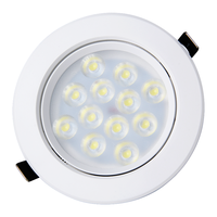 CE ROSH SAA certified 12w led spotlights for homes recessed ceiling spot light mini small indoor jewellery shop