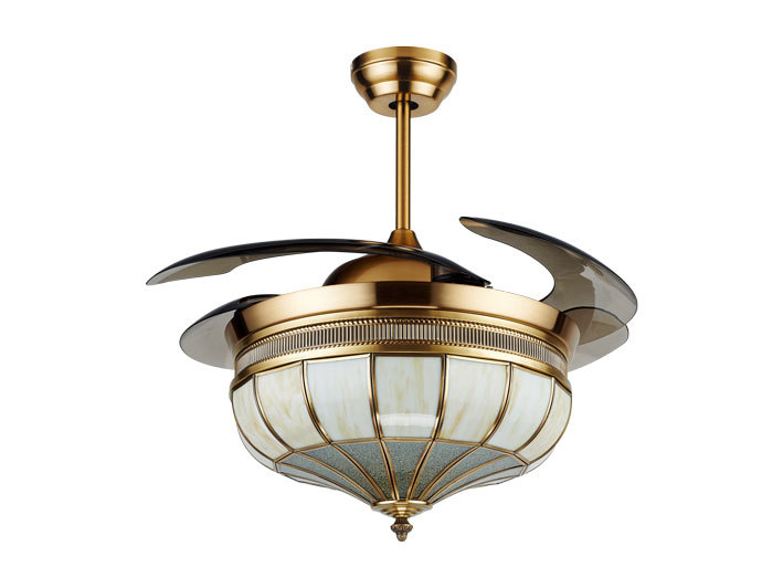 retractable lighting. noble decorative retractable fan with light and hidden blades lighting