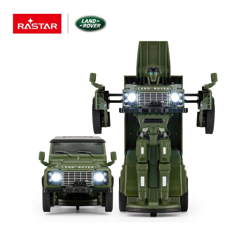 1:32 Die cast Land Rover Defender რობოტი, 13.5*9.5*15.5