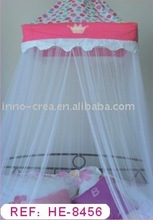single 100% polyester mosquito net