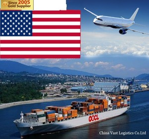 Shipping rates express ALi from lianyugang shanghai ningbo China to usa container courier dropshipping agent