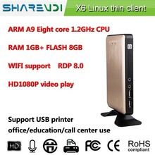 New arrival ! thin client X6 Support touch screen,printer,wide screen,etc affordable price for education.